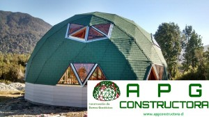 Construcción Domo Geodésico